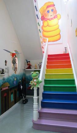 escaleras Gusyluz arcoiris tenerife