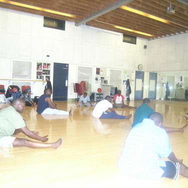 OPAM members during physical exerciseee session