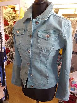 VOGGO - AQUA Denim Style jacket