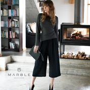 MARBLE - Black Trousers