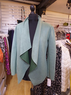 Made in Italy -   Mint faux suede jacket