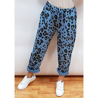 New Collection Italy - Animal Print Jogger