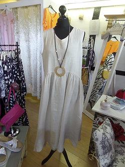 FOCUS - Oatmeal Linen Dress