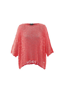 MARBLE - Lacy Coral  layering top