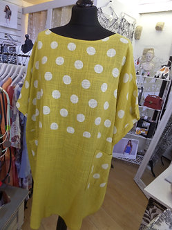 MADE IN ITALY -  Pretty Spotty Tunic
