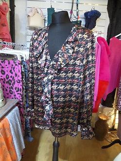 Y LONDON   Tweed design Blouse