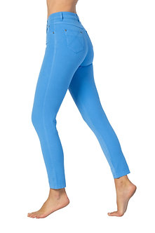 MARBLE - Blue 7/8th 4 Way stretch Jeans
