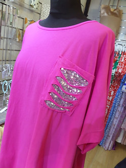 NEW COLLECTION Ladder sparkle Tunic