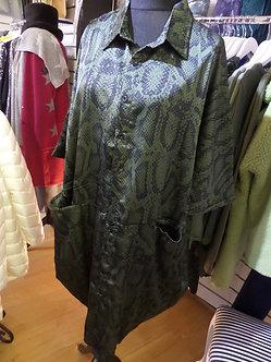 MALISSA J - Snake Skin Dress