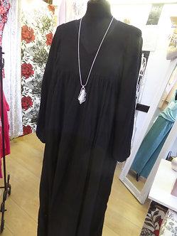 BIANCA NERI ITALY - Luxury Balloon Sleeve Dress