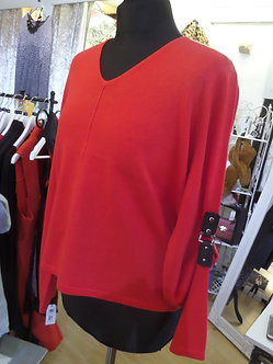 MARBLE  Red Sweater