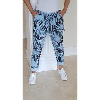 P&R Star           Zebra Print Trousers
