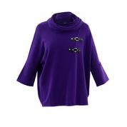 Mable - Cowell neck bat wing sweater