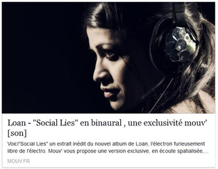 Social Lies en version binaurale avec Mouv'