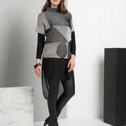 FOIL -Very Stylish Soft Knight top