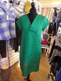 FOIL -  Beautiful Green Linen dress