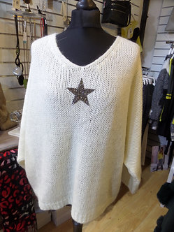 Italia - Mohair Star Sweater