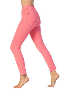 MARBLE - Coral 7/8th 4 way stretch jeans