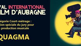 Mention spéciale du Jury pour Quagma au FIFA !