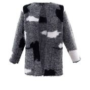 Marble - Eye lash wool jacket/cardi