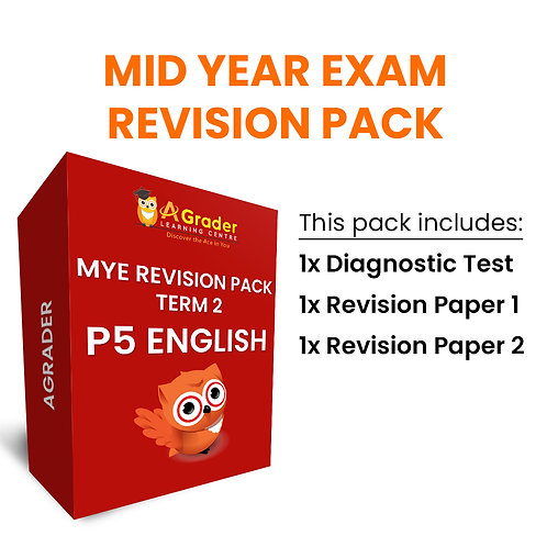 Mid Year Exam Revision Pack - P5 English (Term 2)