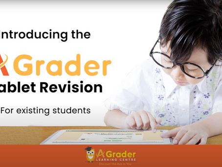 """Introducing the AGrader """"Tablet Revision"""""""