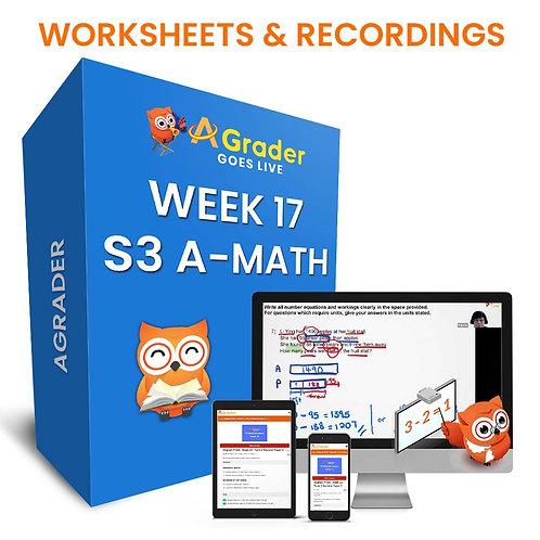 S3 A-Math (Week 17)- Topic 5: Polynomials