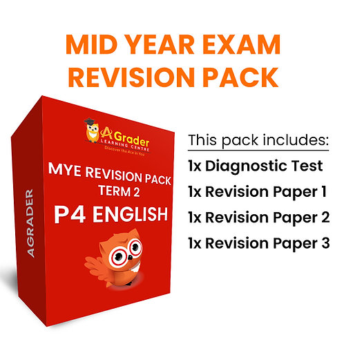 Mid Year Exam Revision Pack - P4 English (Term 2)