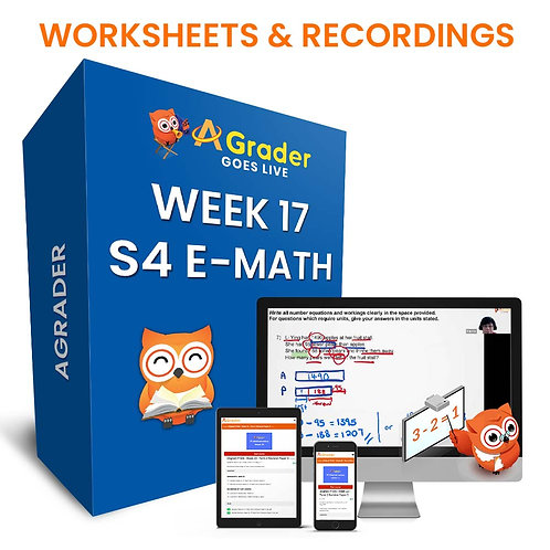 S4 E-Math (Week 17)- Topic 5: Vectors