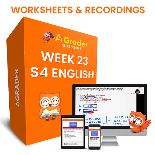 TEST PRODUCT 2 - S4 English (Week 23)