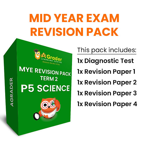 Mid Year Exam Revision Pack - P5 Science (Term 2)
