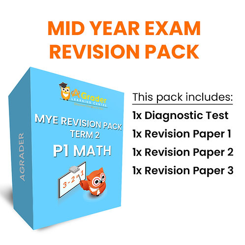 Mid Year Exam Revision Pack - P1 Math (Term 2)