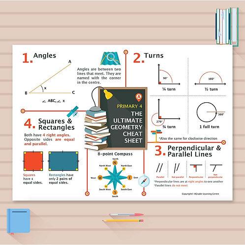 P4 Math Cheat Sheet - Geometry