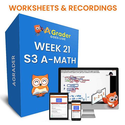 S3 A-Math (Week 21)- Topic 7: Binomial Theorem