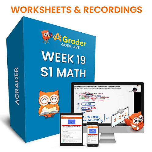 S1 Math (Week 19) - Topic 6: Simple Inequalities