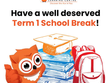 Term 1 School Break is here!