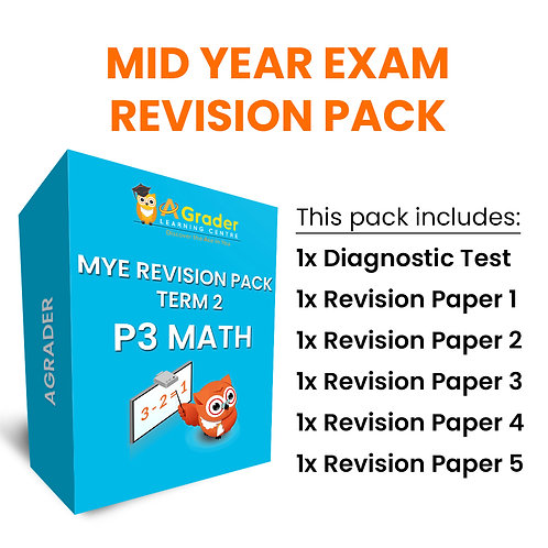 Mid Year Exam Revision Pack - P3 Math (Term 2)