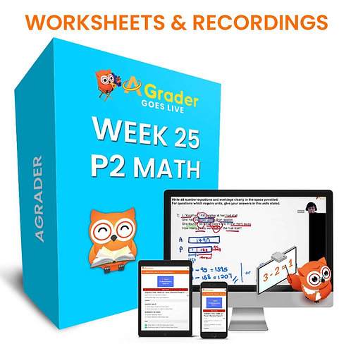P2 Math (Week 25) - Topic: Revision on Whole Numbers
