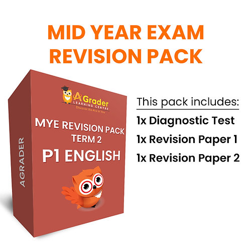 Mid Year Exam Revision Pack - P1 English (Term 2)