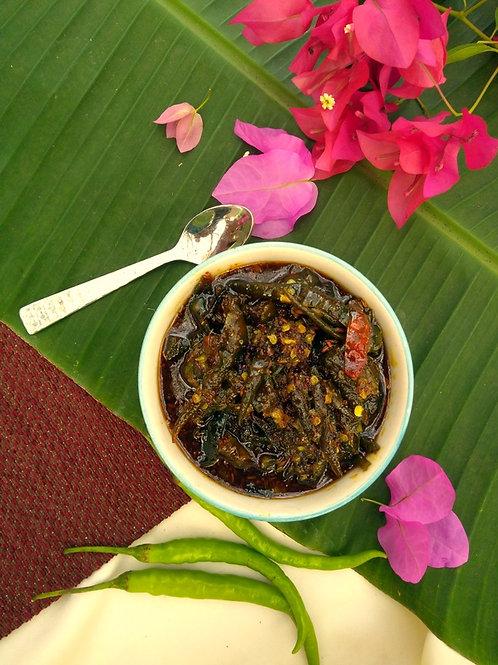 Godi Mirchi (Sweet Chili Pickle)