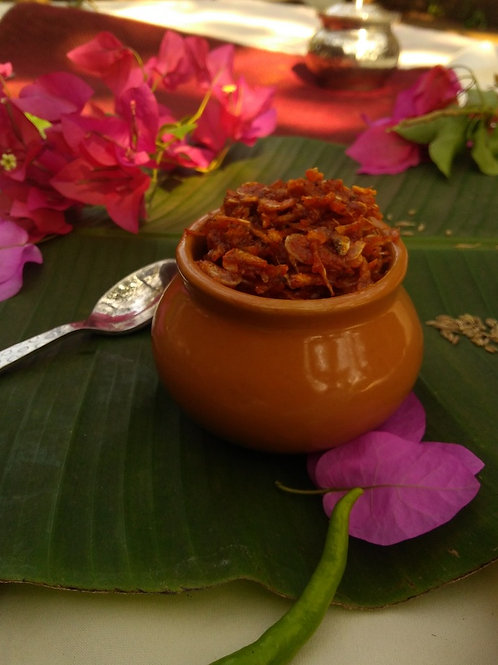 Jawlyacha Loncha (Shrimp Pickle)