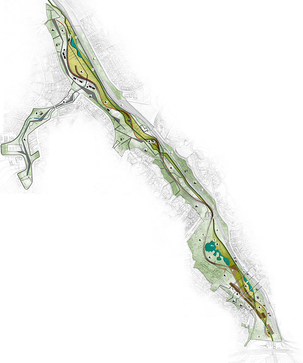 Eskinoz Valley Urban Design Project