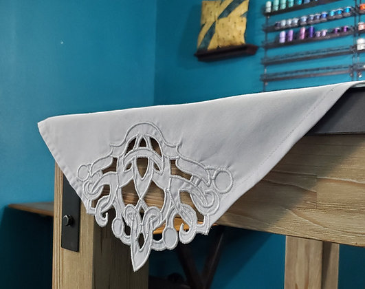 Cutwork Linen Embroidery