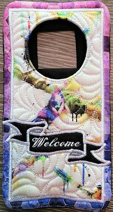 Embroidered Door Hangers