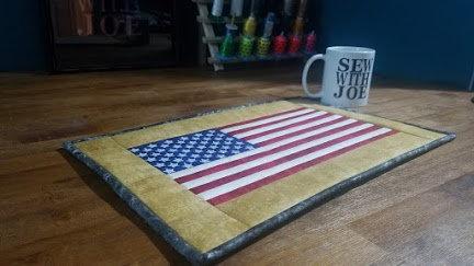 US Flag Centerpiece