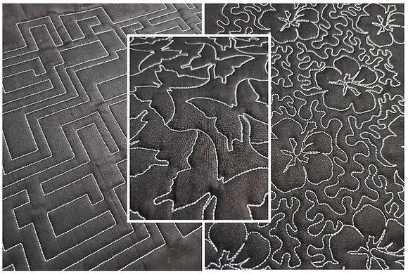 Pantograph Embroidery Bundle