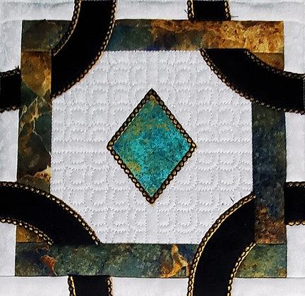Crown Jewel Quilt Block