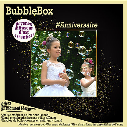 BubbeBox anniversaire