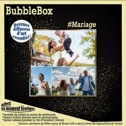 BubbleBox mariage