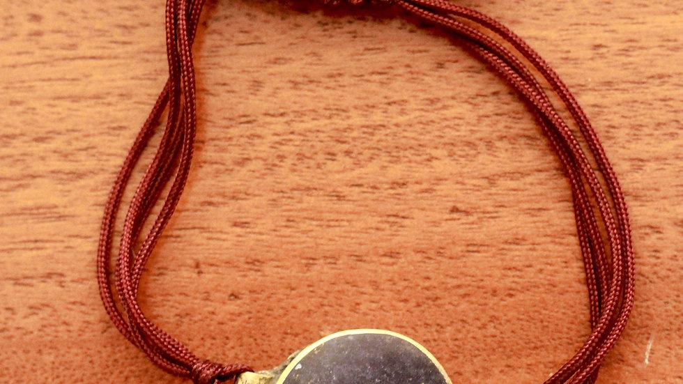 Large Lapis and Silver Bracelet